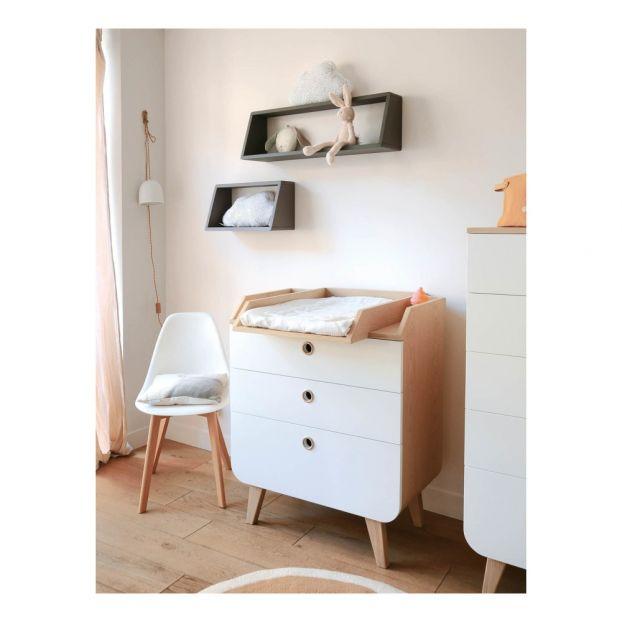 Zen by Laurette Changing Table Natural Laurette Design Baby