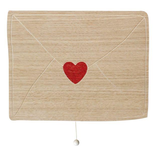 Love Letter Music Box Natural