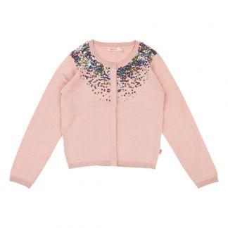 Billieblush Sequined Cardigan -product. Billieblush. Sequined Cardigan Pink 393ce8dd7