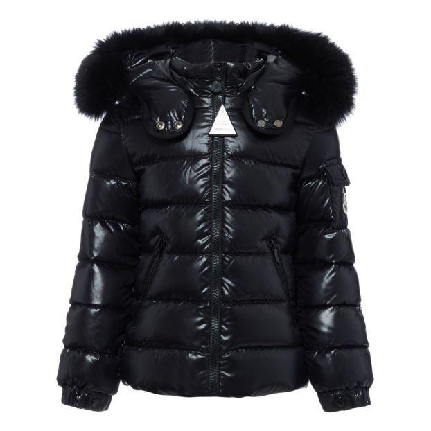 7f5a36589 Bady Fur Down Jacket Black