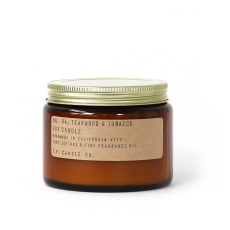 product-P.F. Candle Co N4 Scented Candle- Teak Wood and Tobacco