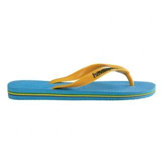 800e8c6f4630e Brazil logo flipflops Yellow Havaianas Shoes Teen