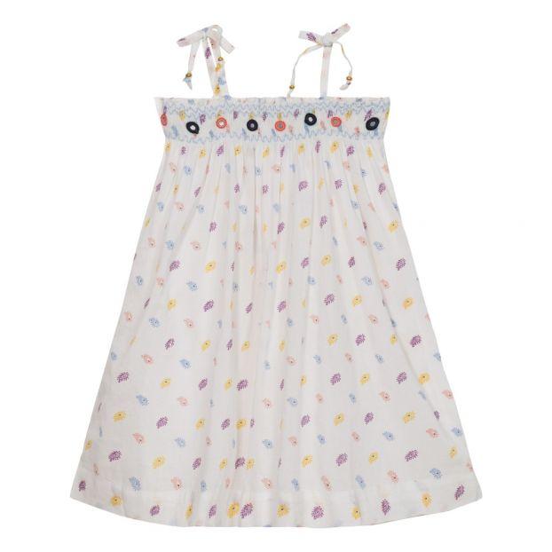 7073e3dcb18 Eden dress White Velveteen Fashion Children