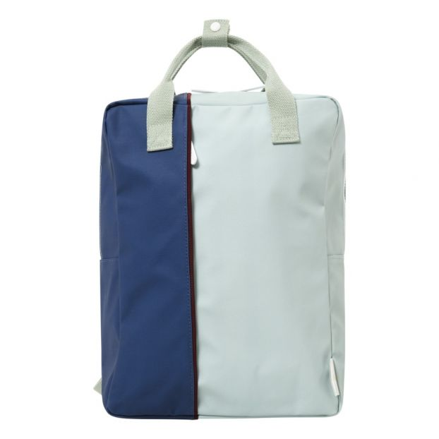 b35d3d305102 Two Tone Backpack Blue