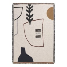 product-Ferm Living Mirage Cotton Blanket