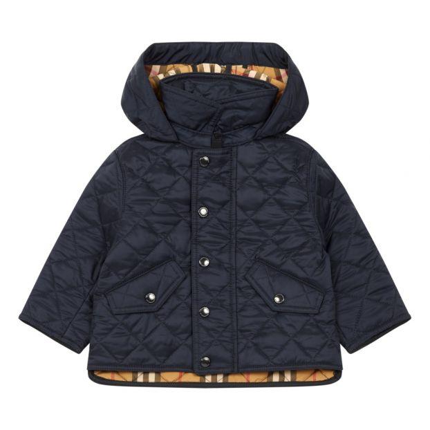 9cd28258fcb0 Ilana Down Jacket Navy blue Burberry Fashion Baby