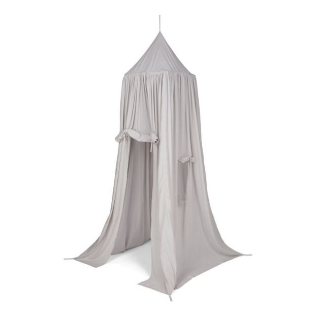 Liewood. Organic cotton tent ...  sc 1 st  Smallable & Organic cotton tent bed canopy Grey Liewood Design Children