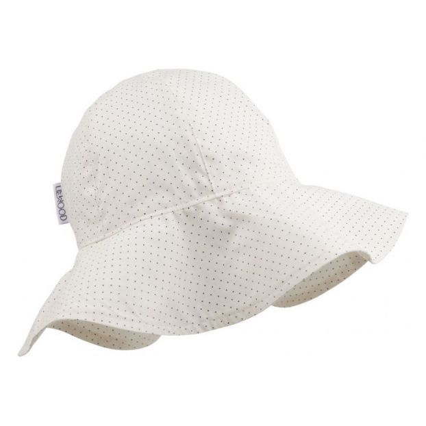 fd571bd86e8 Amelia polka dot organic cotton hat Cream Liewood Fashion Baby