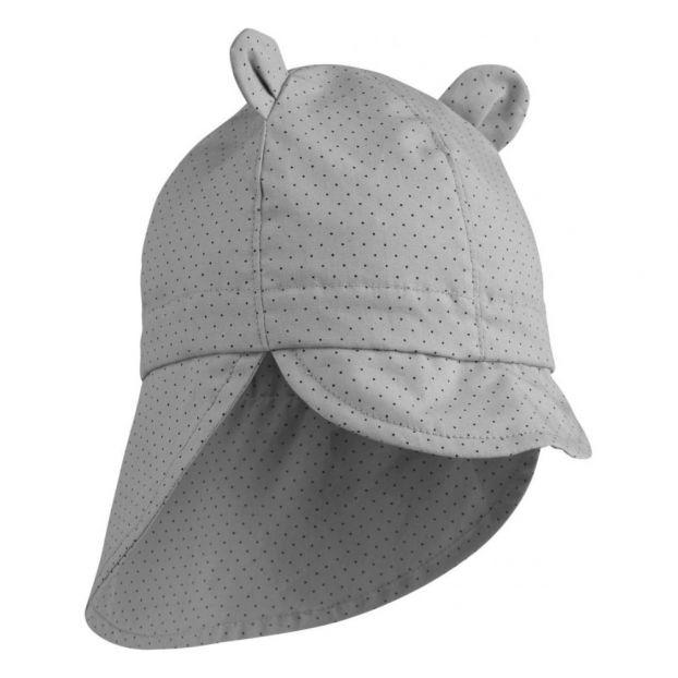 6b0b7a6ecec Polka dot organic cotton sun hat Grey Liewood Fashion Baby