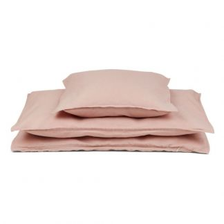 Completo da letto in cotone bio Rosa
