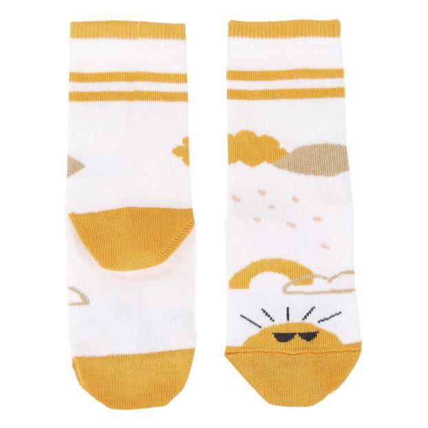 Socken Sonne Gelb Emile Et Ida Mode Baby Kind