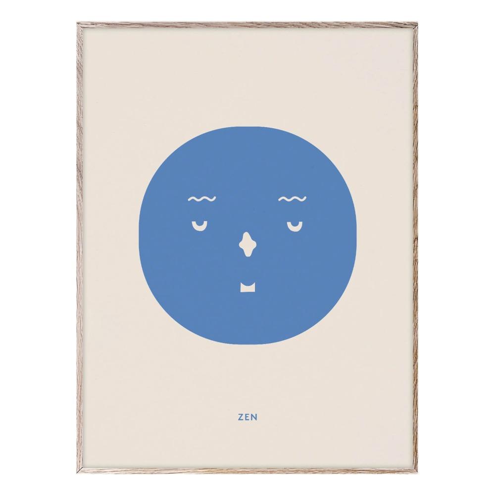 Nice: Poster Zen 30x40 cm Idee