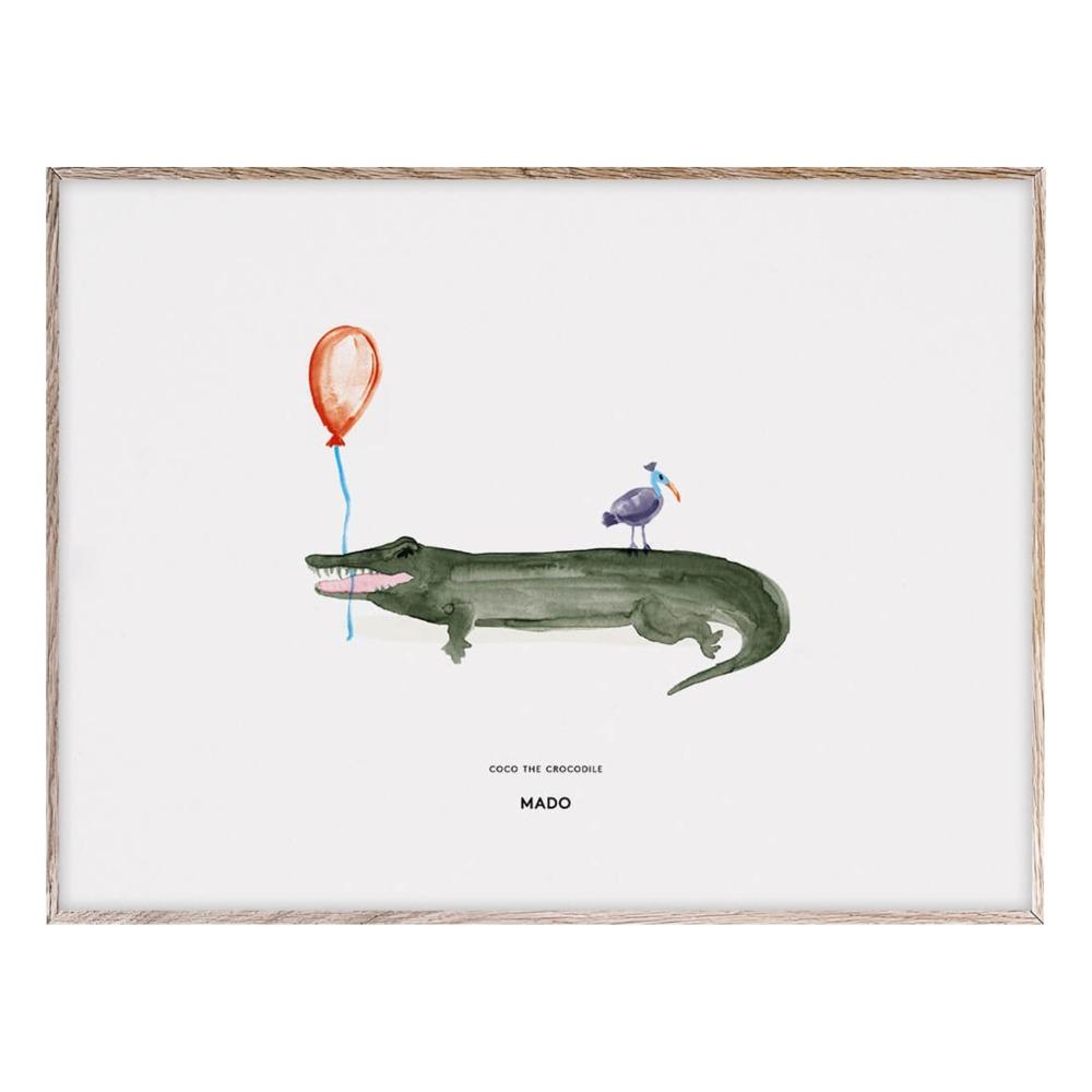 Okay: Poster Coco the Krokodil 40x30 cm Hit