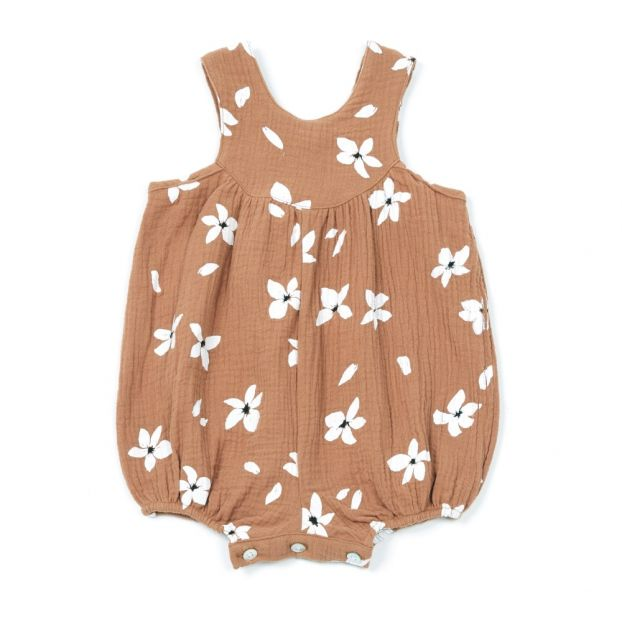 2521d582259b Hibiscus romper Russet Rylee + Cru Fashion Baby