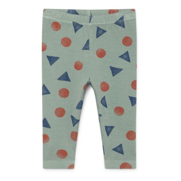 5f4e0a76d Organic cotton leggings Blue Green Bobo Choses Fashion Baby