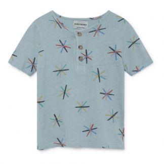 b40994d3a8dcf Bobo Choses T-shirt Coton Lin Etoiles-listing