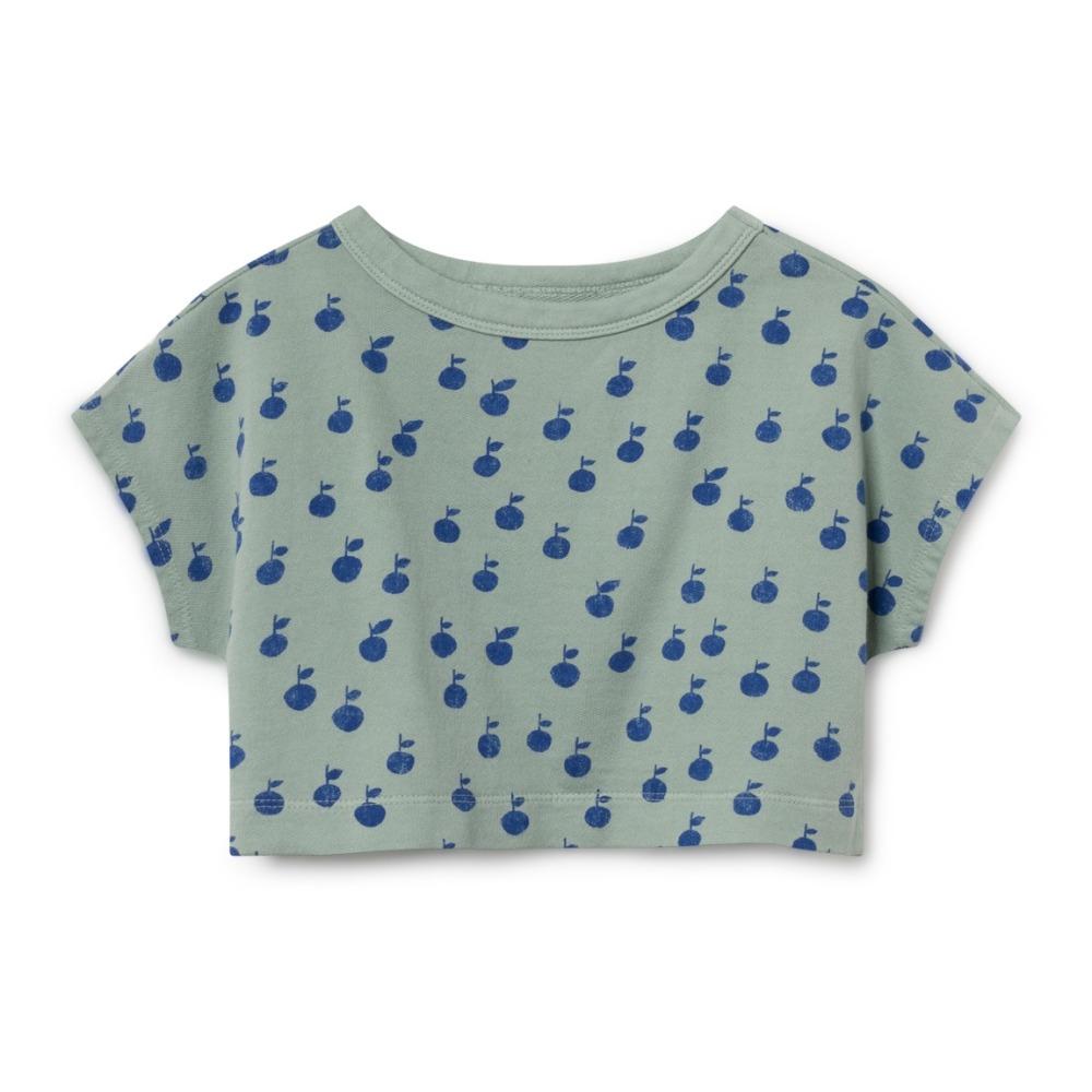 Echt klasse: Sweatshirt Cropped Pfirsisch Bio- Deal