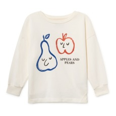 product-Bobo Choses Apple Pear organic cotton sweatshirt