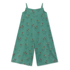 product-Bobo Choses Tulips cotton and linen romper