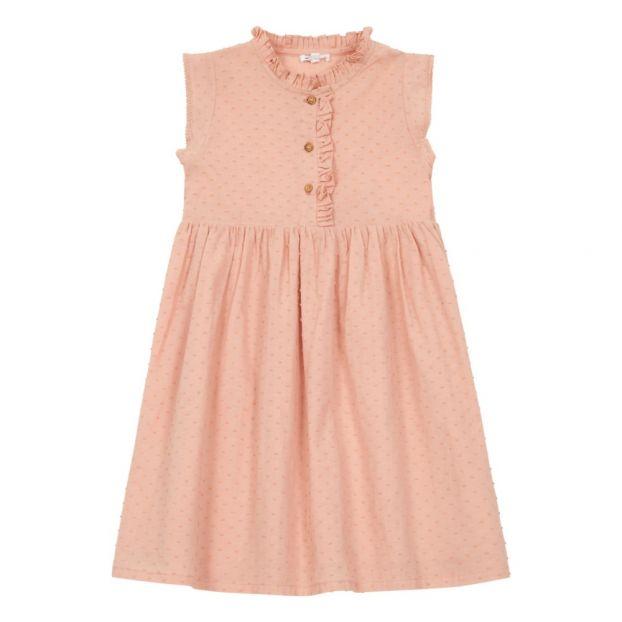 26f3f1f2614 Manon dress Pale pink Marlot Paris Fashion Baby