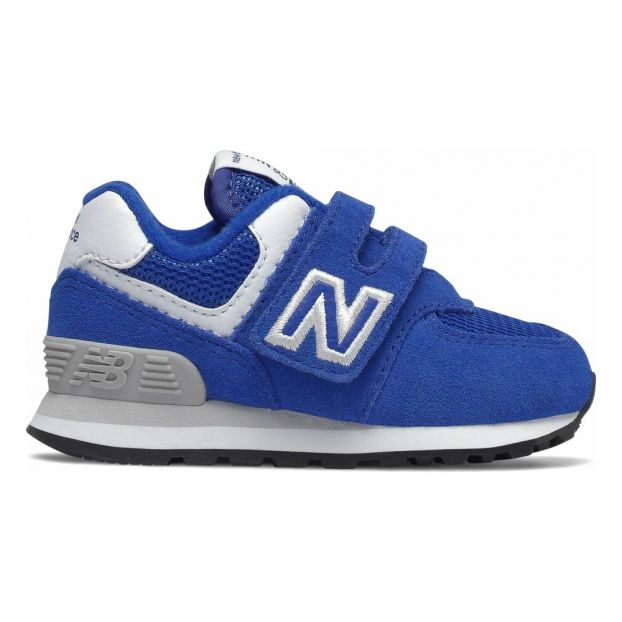 1d634474f4bbf 574 Velcro Sneakers Royal blue New Balance Shoes Teen , Baby ,