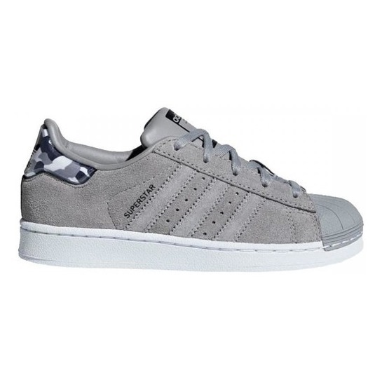 3e3d074261 Baskets Lacets Cuir Camouflage Superstar Gris anthracite Adidas