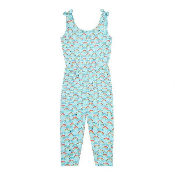 5e8e89842 Deborah Rainbow jumpsuit Light blue Soft Gallery Fashion Children