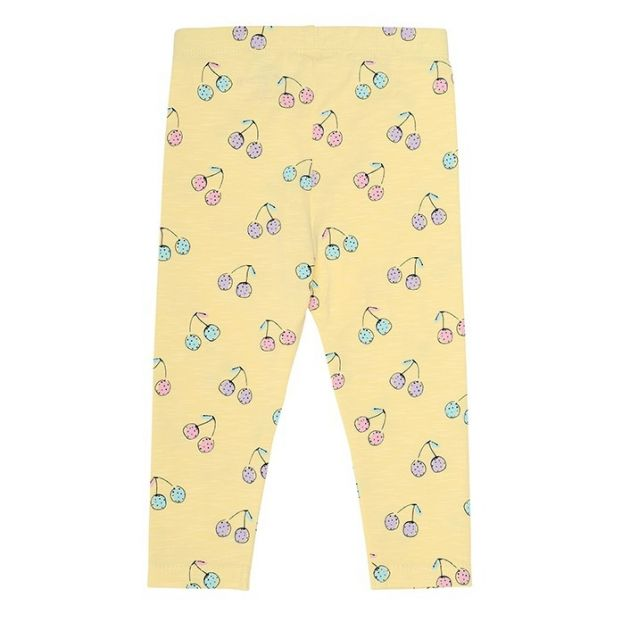 10ef3237a9dab8 Paula Cherish baby leggings Yellow Soft Gallery Fashion Baby