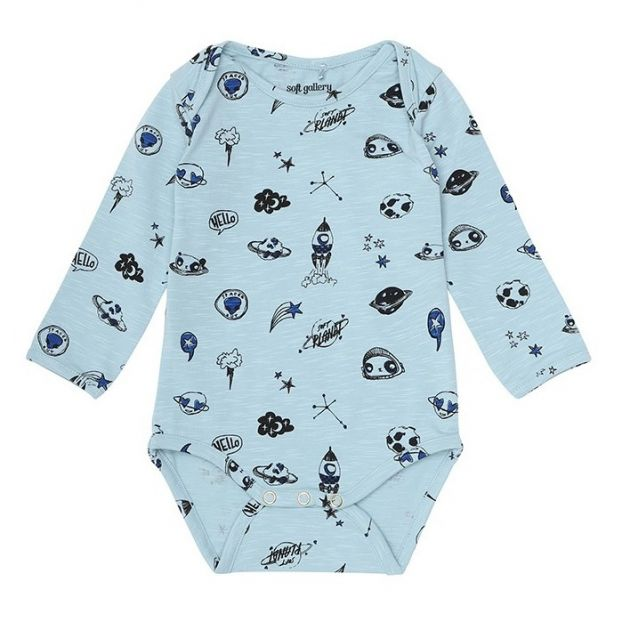 c9727d348a22 Bob Space romper Blue Soft Gallery Fashion Baby
