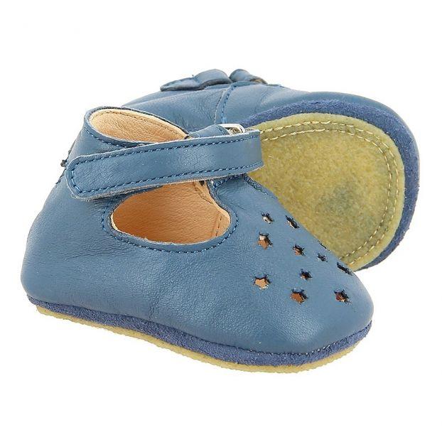 brand new 3ed1d 9ddee Scarpe bebe cuoio LilloP Blu marino