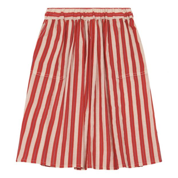 729a683ed Pilo Skirt Red MAAN Fashion Children