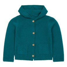 product-Lab - La Petite Collection Hooded cardigan