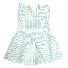 product-Lab - La Petite Collection Ruffled linen dress