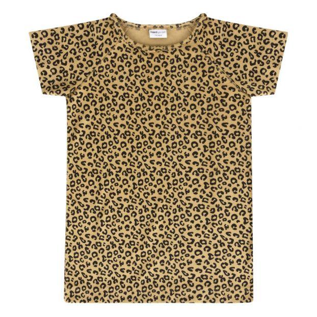99ec7e8dd8dc Leopard dress Yellow Maed For Mini Fashion Baby , Children