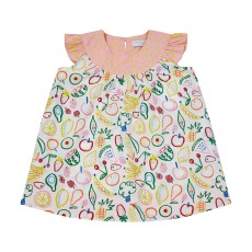 product-Stella McCartney Kids Robe + Bloomer Coton Bio Fruits