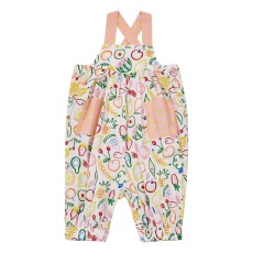 product-Stella McCartney Kids Fruit organic cotton playsuit