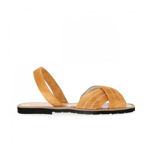 Sandales à brides Sessun rose et dorée Vinted
