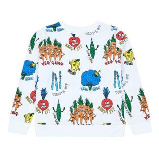 7b7d7d86d Heath Painted Hoodie Heather grey Stella McCartney Kids Fashion