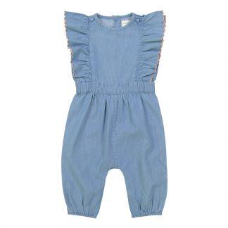 24f039d53 Ora Organic Cotton Romper Pink Lulaland Fashion Baby