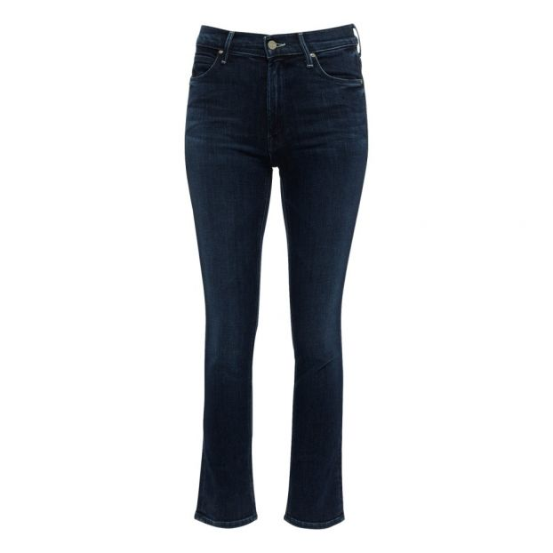Mid Rise Dazzler Ankle Jeans Indigo Blue by Smallable