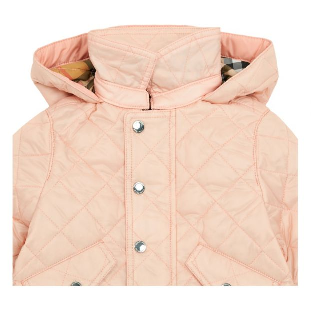 f1d183971 Ilana hooded jacket Pink Burberry Fashion Baby