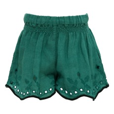 product-Buho Leile embroidered linen shorts