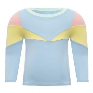 c4a0e3dc8 Pacific Rainbow Aprila Tricolour UV Protective T-Shirt-listing