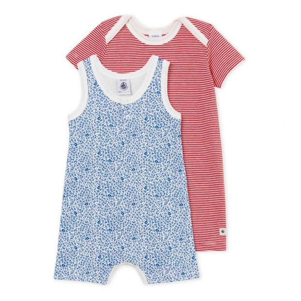 539e7ddd195 Bench jumpsuit set White Petit Bateau Fashion Baby