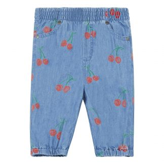 1fc7acd6520 Stella McCartney Kids Cherry chambray trousers-listing
