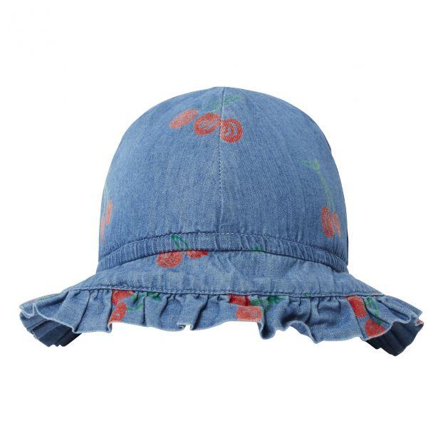 Sombrero Chambray Cherry Vaquero Stella McCartney Kids Moda Bebé 2e50f88086f