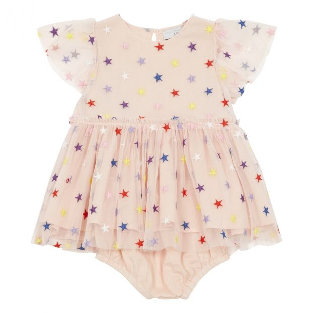 ea79feee37b77 Tulle dress + bloomers Pale pink Stella McCartney Kids Fashion