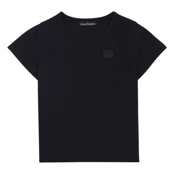 3b8b1a574fe4 T-Shirt Mini Nash Face Noir Acne Studios Mode Enfant