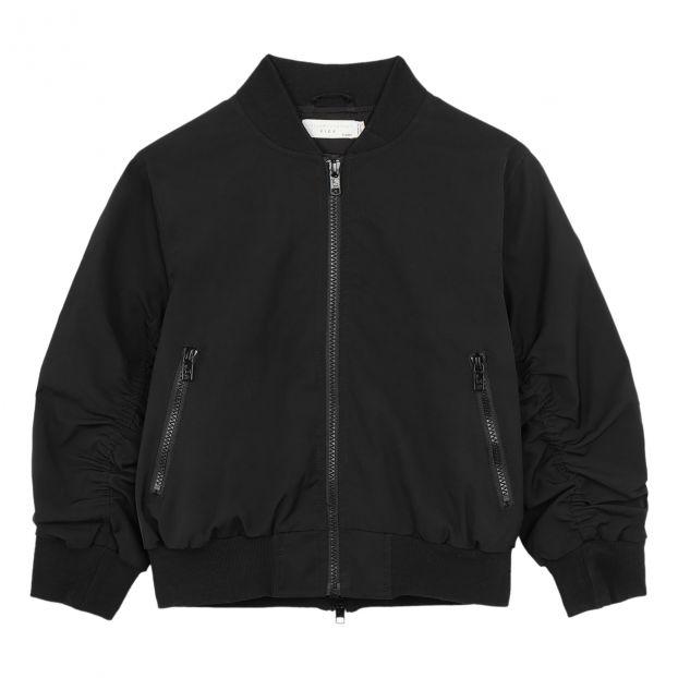 a9d76f709df7a Waterproof bomber jacket Black Stella McCartney Kids Fashion Teen