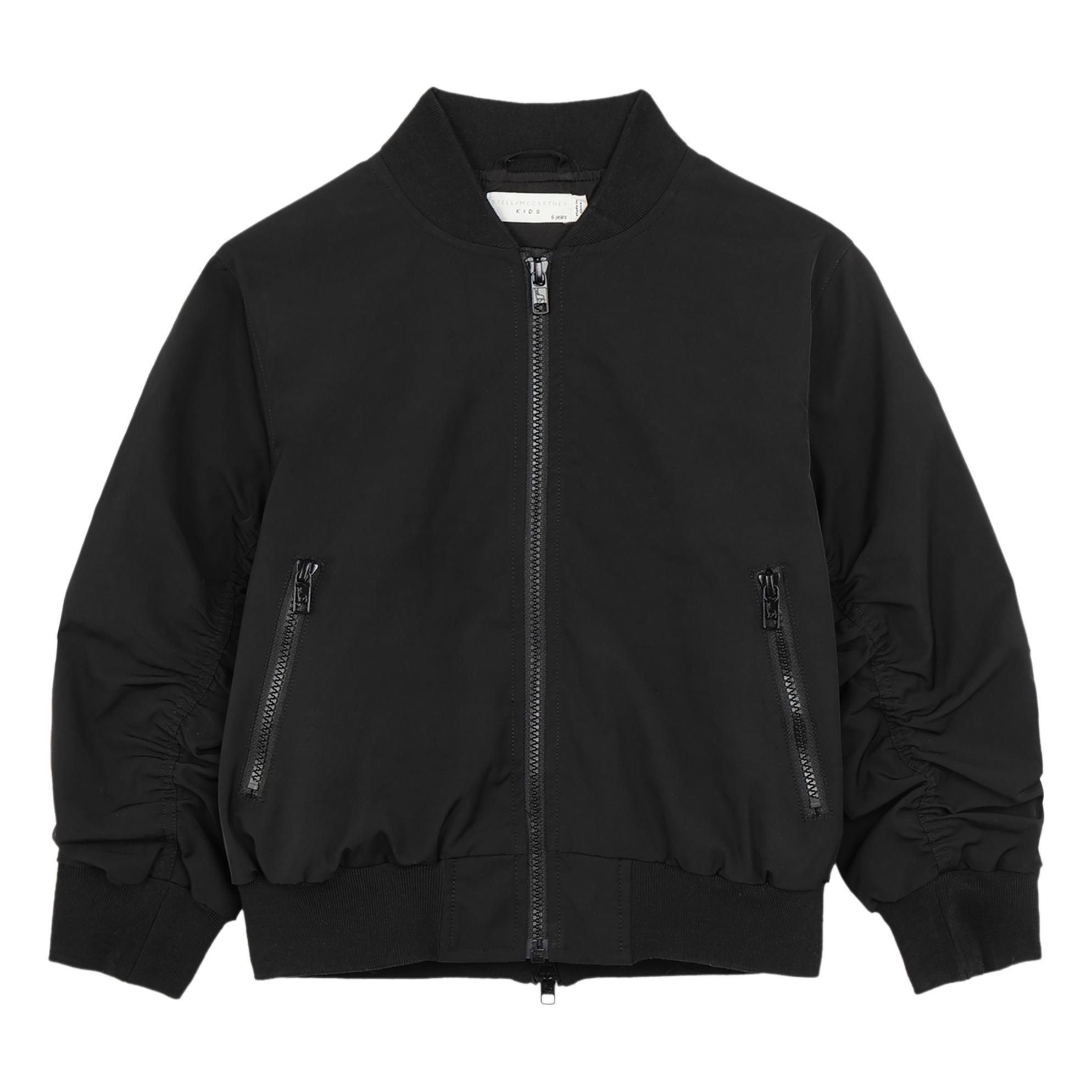 5447c6b79 Waterproof bomber jacket Black Stella McCartney Kids Fashion Teen
